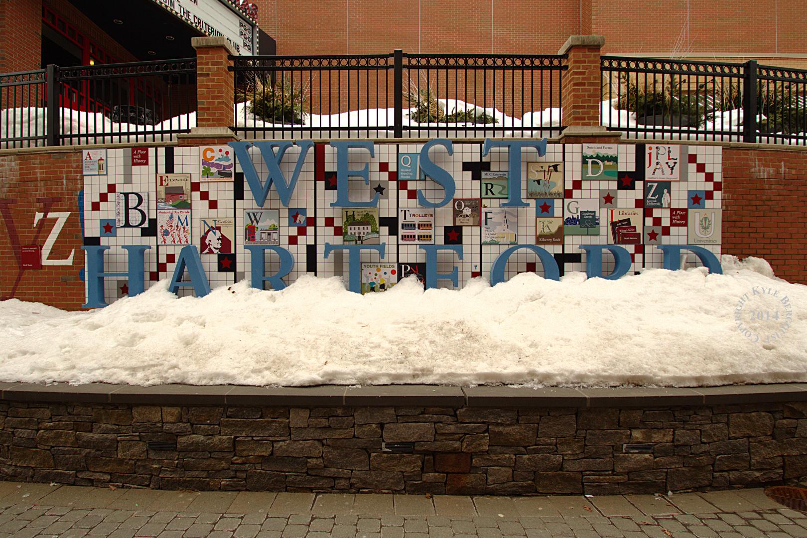 Snowy West Hartford