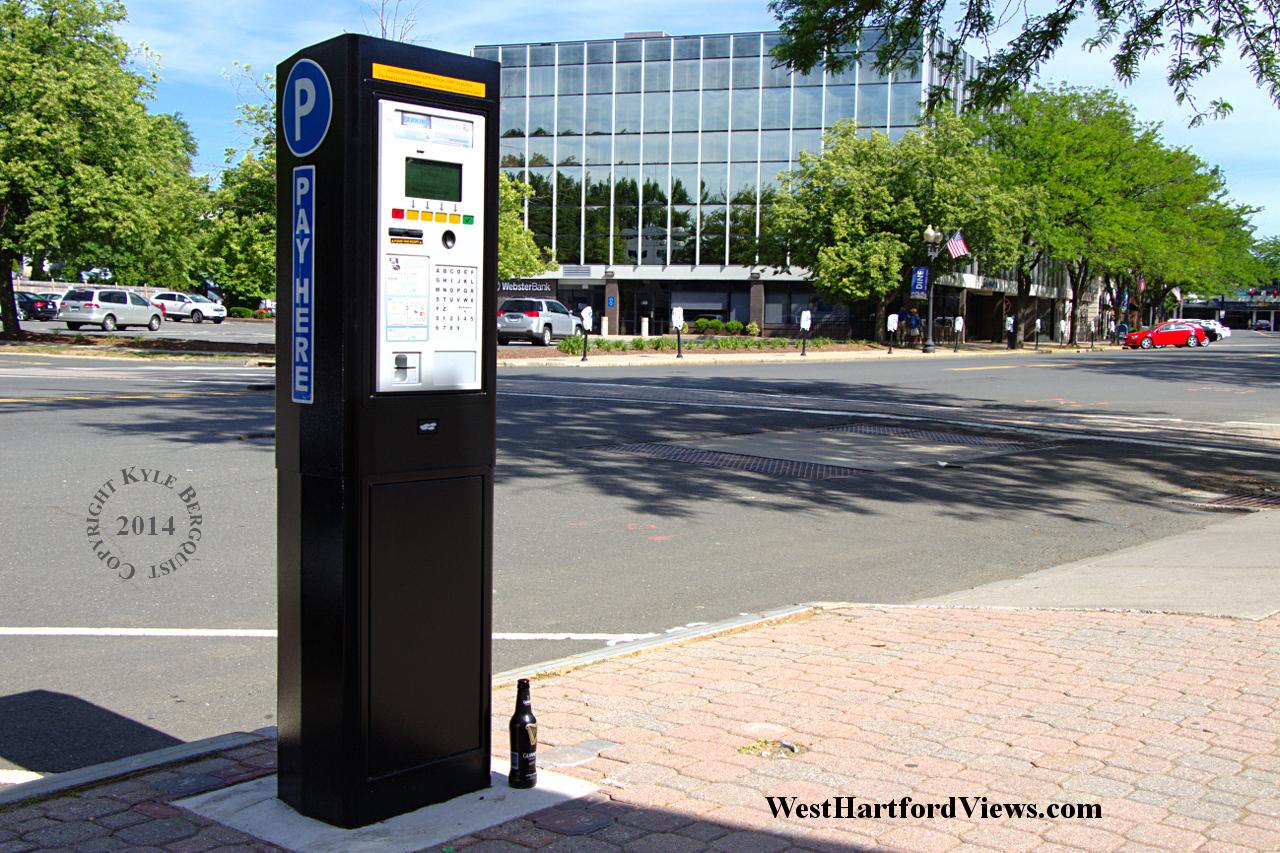 Kiosk Parking in Effect