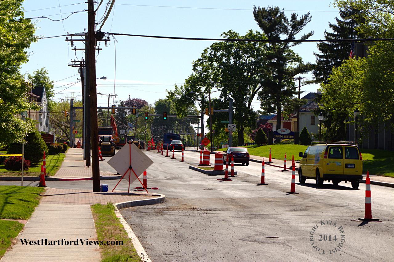 Streetscaping Farmington Avenue